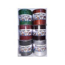 Лента LOGICTAPE Бутил -каучук. 100мм*10м (Серебро) (1/12)