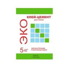 Клей-цемент Эко 5кг