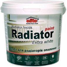 Краска радиаторная акриловая матовая