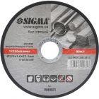 Круг отрезной по металлу 125х1.0х22.2мм (10/40) 1940071 SIGMA