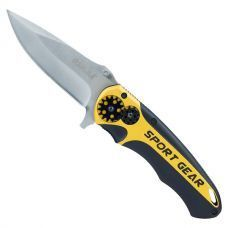 Нож раскладной 115мм (рукоятка алюминиевый сплав) 4375751 РАСПРОДАЖА
