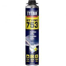 Клей-пена Tytan О2 STYRO 753 для теплоизол. ПРОФ GUN В3 750 мл 77961