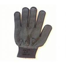 Перчатки стрейч точка (серые, синие, черные) (12 шт)
