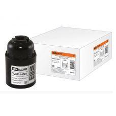 Патрон карболитовый подвесной E27, черный TDM SQ0335-0001