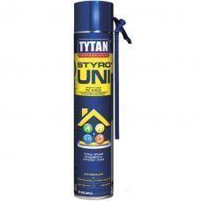 Клей-пена Tytan O2 STYRO UNI универс. для теплоизол. ТРУБКА B3 750 мл 21772