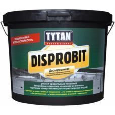 Мастика Tytan Disprobit битум-каучук. для кровли и гидроизоляции чорн. 10кг 10516